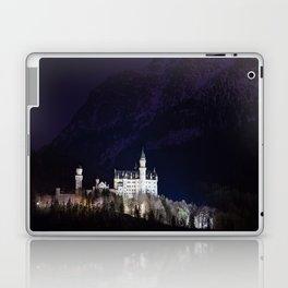 Neuschwanstein Castle at Night Laptop & iPad Skin