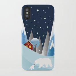 Snowing Bubble iPhone Case