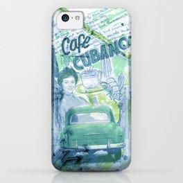 Cafe Cubano iPhone Case