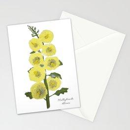 Hollyhock: Alcea Stationery Cards
