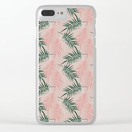 Palm Springs No.5 Clear iPhone Case