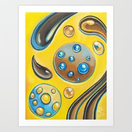 Cookies and Champagne Art Print