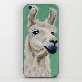 Fluffy White Wise One iPhone Skin