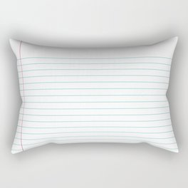 Notepaper Rectangular Pillow