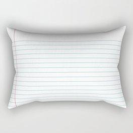Notepaper Rectangular Pillow