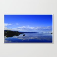 Summer in the fjord 2016 Canvas Print