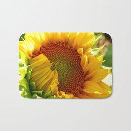 Sunflower design Bath Mat