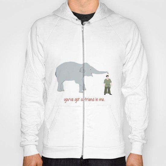 Elephant Friends Hoody