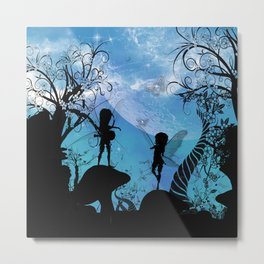 Cute fairy Metal Print