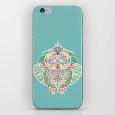 RAINBOW OWL iPhone & iPod Skin