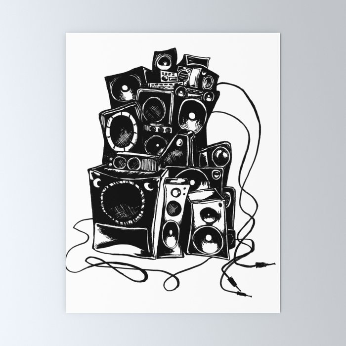 Svg Black And White Boombox Clipart Classic - Club Penguin Funny - 720x720  PNG Download - PNGkit