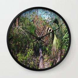 Outdoor Plans Wall Clock