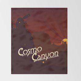 Final Fantasy VII - Cosmo Canyon Tribute Throw Blanket