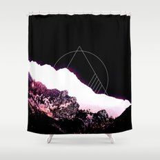 Mountain Ride Shower Curtain