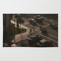 street Area & Throw Rugs featuring Street by juzclick227