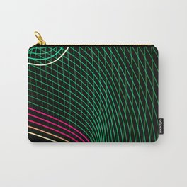 abstract  lines Carry-All Pouch
