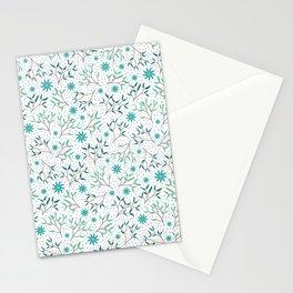 Under the Mistletoe Pattern Stationery Cards
