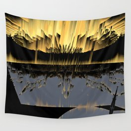 Against an asteroid attack Wall Tapestry