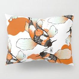 Koi Meditation Pillow Sham