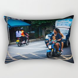 Ayutthaya Transportation Rectangular Pillow
