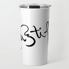 be {u} tiful Travel Mug