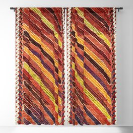 Baluch Northwest Afghanistan Rug Print Blackout Curtain