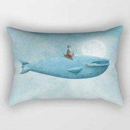 Whale Rider  Rectangular Pillow