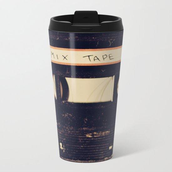 mix tape Metal Travel Mug