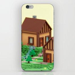 voxel hamlet iPhone Skin