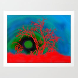 Desert Rising Art Print