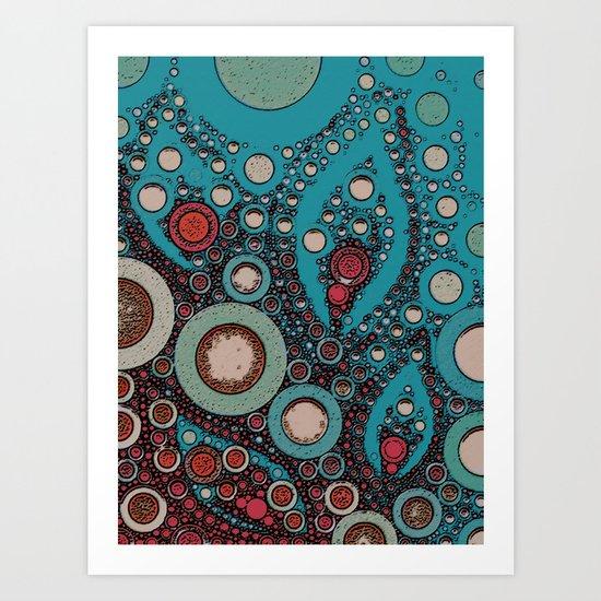 :: Summer Scarf :: Art Print