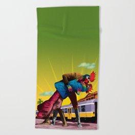 Passion Beach Towel