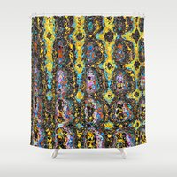 mod Shower Curtains featuring Mod by Stephen Linhart