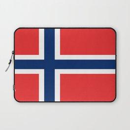 Flag of norway Laptop Sleeve