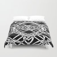 celtic Duvet Covers featuring Celtic Art by Alice Gosling