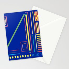 Construction Colors Stationery Cards
