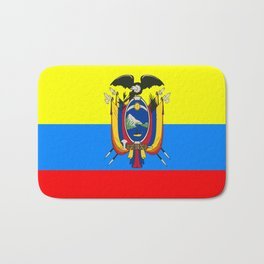Flag of Ecuador Bath Mat