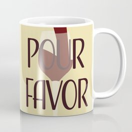 Pour Favor Coffee Mug