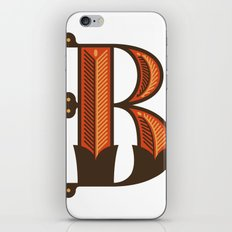 The Letter B iPhone & iPod Skin