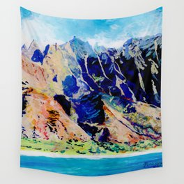 Na Pali Coast Wall Tapestry