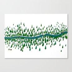 Jeju Forest Canvas Print