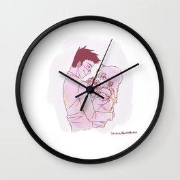 Leopika Family Wall Clock