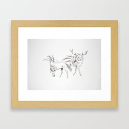 They See, I See Framed Art Print