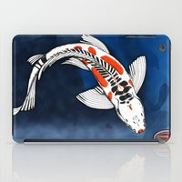 koi fish iPad Cases featuring Koi Fish by Nerd Artist DM