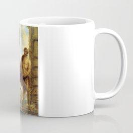 "Sir Anthony van Dyck ""The Two Saints John (Saints John the Baptist and John the Evangelist)"" Coffee Mug"