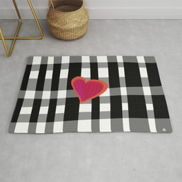 HERE IS MY HEART Rug