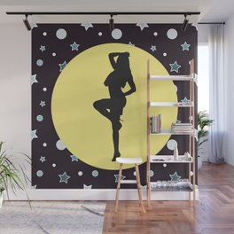 Party Girl Wall Mural