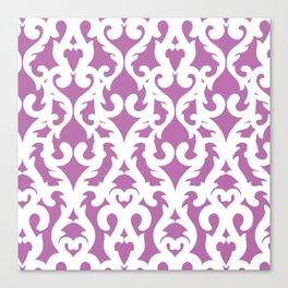 Modern Baroque Purple Canvas Print