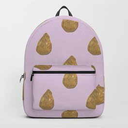 golden teardrop Backpack