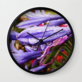 Watering Life Wall Clock
